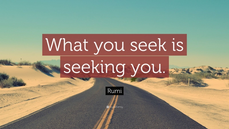 VIDEO POST: What If You Were God Seeking a Seeker?