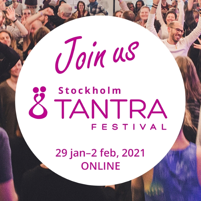 MEET WITH US FOR THE STOCKHOLM TANTRA FESTIVAL—ONLINE!!