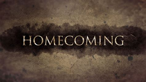 Video & Podcast Post: Wake up Right Now! (The Homecoming Story Live)
