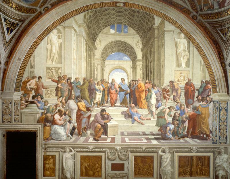 School of Athens 800