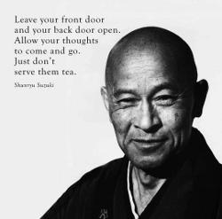 Wisdom from Shunryu Suzuki-Roshi