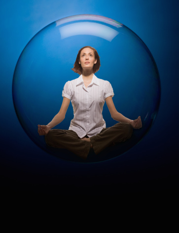 Video: WHERE YOU ARE STUCK (And How-to Get Out of It) The Bubble of Self-Reflection Video #2
