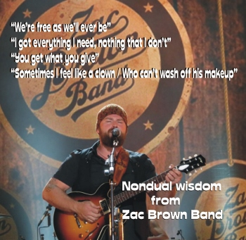 Nonduality in Pop Culture: Wisdom from Zac Brown Band