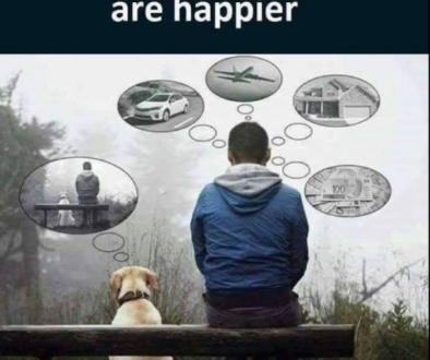 man dog bench