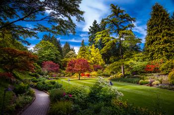 Butchart Gardens in Victoria, Vancouver Island, British Columbia, Canada