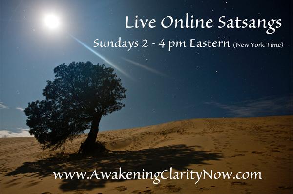 nonduality satsang online live fred davis